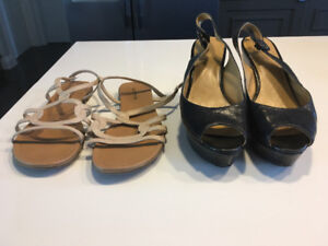 Nine West and Spring Ladies Shoes 8.5