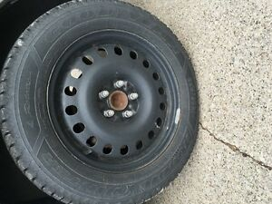 Winter tires 225/60R17 with rims Windsor Region Ontario image 1