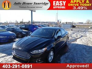 2015 Ford Fusion SE EcoBoost Leather Sunroof B.Cam!!!