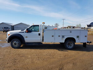 2011 Ford F 550 SERVICE TRUCK $44,986