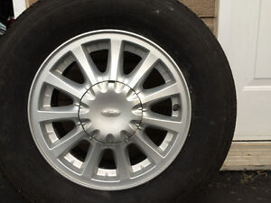 roues mags FORD 15 pouces 5 trous