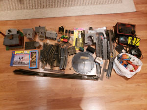 Huge Lot of HO Track & Accessories