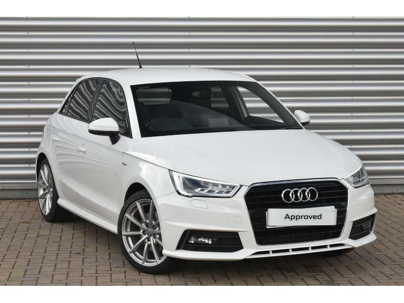 2015 audi a1 a1 sportback 1 4 tfsi 150 s line 5dr s tronic petrol white semi au in exeter. Black Bedroom Furniture Sets. Home Design Ideas