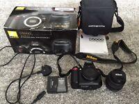 Nikon D5000 SLR with 18-55 lens