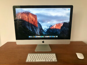 "iMac 27"" Mid 2011 + wireless keyboard and mouse"