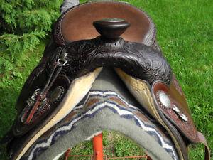 Circle Y Equitation Saddle - 15.5 in Gatineau Ottawa / Gatineau Area image 5