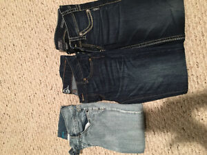 Size 27 Jeans and Capri
