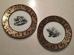 Fitz and Floyd collector plates