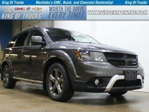 2015 Dodge Journey Crossroad | AWD | V6 | Sunroof | DVD | 7 Pass