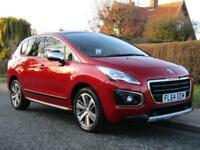 2014 Peugeot 3008 1.6 HDi ALLURE 5DR TURBO DIESEL ** SAT NAV * FULLY LOADED T...