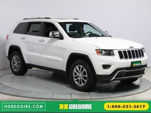2016 Jeep Grand Cherokee Limited 4WD AUTO CUIR TOIT MAGS BLUETOO