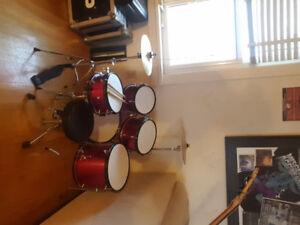 Childs drum set