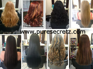 HAIR EXTENSIONS*HALF PRICE OF GL & OURS WILL LAST OVER 1 YEAR London Ontario image 1