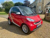 2009 smart fortwo 0.8 PASSION CDI 2d 45 BHP Coupe Diesel Automatic