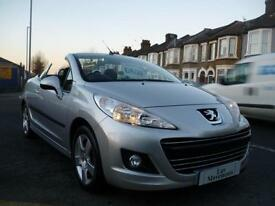 Peugeot 207 CC 1.6 VTi 120 2010 / 10 Sport 24000 MILES FROM NEW