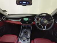 2018 ALFA ROMEO GIULIA SPECIALE TD AUTOMATIC RED INTERIOR HEATED SEATS 1 OWNER