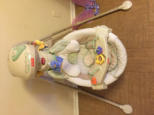 Fisher price baby swing only 50$