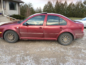 2004 VW Jetta Car or Parts