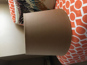 2 lampshades purchased at pier 1.