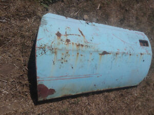 Original left side used door from a 1968-70 AMX Javelin (D-004)