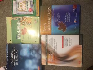 Nursing textbooks must go! Best offer