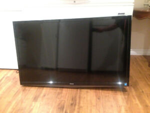 """Toshiba 50"""" television with wall mount"""