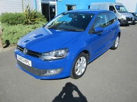 Volkswagen Polo 1.2 ( 60ps ) 2013.5MY Match Edition £184x48 NO DEPOSIT FINANCE