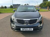 2012 Kia Sportage 1.6 GDi ISG 2 5dr ESTATE Petrol Manual