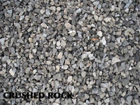 CRUSHED ROCK,PEA ROCK, SAND, TOPSOIL***FREE DELIVERY