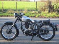 BSA B31, CLASSIC 1946 BIKE, LOTS OF PAPERWORK