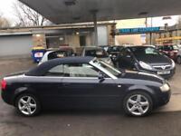Audi A4 Cabriolet 2.5TDI CVT AUTO Sport CONVERTIBLE - 2005 05-REG - 6 MONTHS MOT
