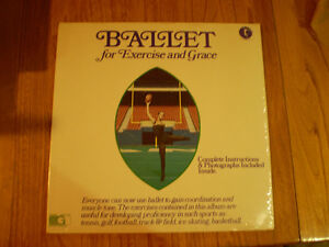 vinyl ballet for exercise and grace by Yvonne Scudiery en33 tour