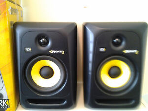 KRK ROKIT 6 G3 Studio Monitor Speaker Pair w Cables