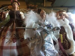 3 Beautiful Christmas Angels $35 West Island Greater Montréal image 1