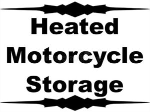 Motorcycle or ATV Storage - Heated-Security System - 24 Hr Video