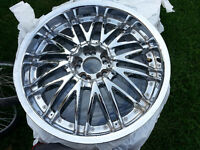 20 inch All Chrome With low Profile Tires MUST SEE 5x114.3