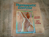 Therapeutic Exercise - Foundations & Techniques 4th Edition