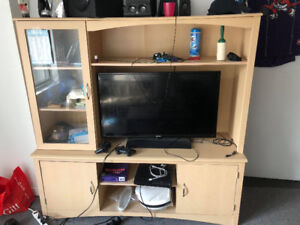 Wooden Cabinet TV Stand