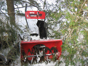 MTD snowblower auger and housing For PARTS Kitchener / Waterloo Kitchener Area image 2
