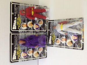 Space 1999 Mysterious Alien,Carter, Morrow Figures 2004