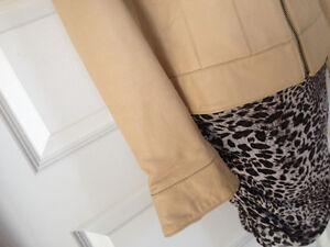 Oscar Leopold Lambskin Jacket woman small like new Kingston Kingston Area image 8