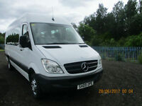 MERCEDES SPRINTER MINIBUS WITH WHEEL-CHAIR ACCESS £14995+VAT