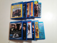 BLUE RAY MOVIES - $3 EACH
