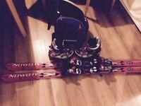 Ski salomon set