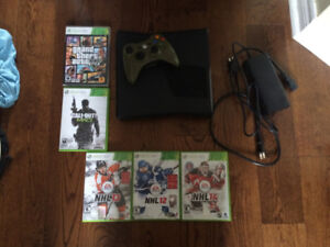 Xbox 360 w/ Controller And 5 Games