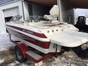 2008 Larson 18 ft Fish and Ski