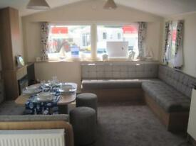 For sale new static caravan holiday home, South Devon.