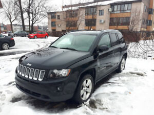 2014 JEEP COMPASS NORTH 4X4 BIEN EQUIPÉE MANUELLE