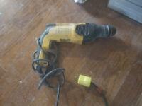 Dewalt SDS hammer drill $40