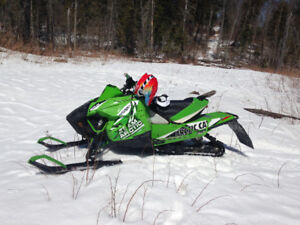 Parting out 2013 Arctic cat snopro 600 race sled